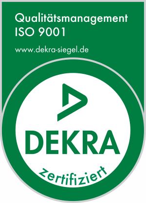 Erstzertifizierung DIN ISO 9001